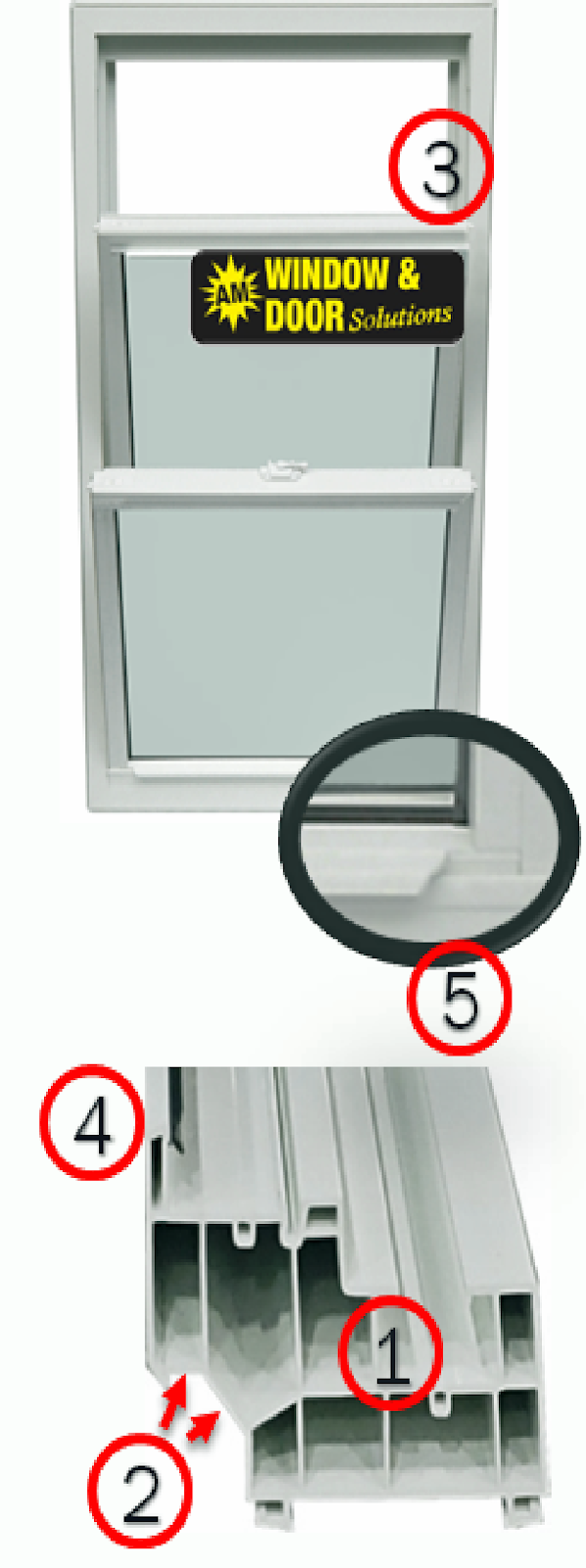 Double Hung Window Diagram