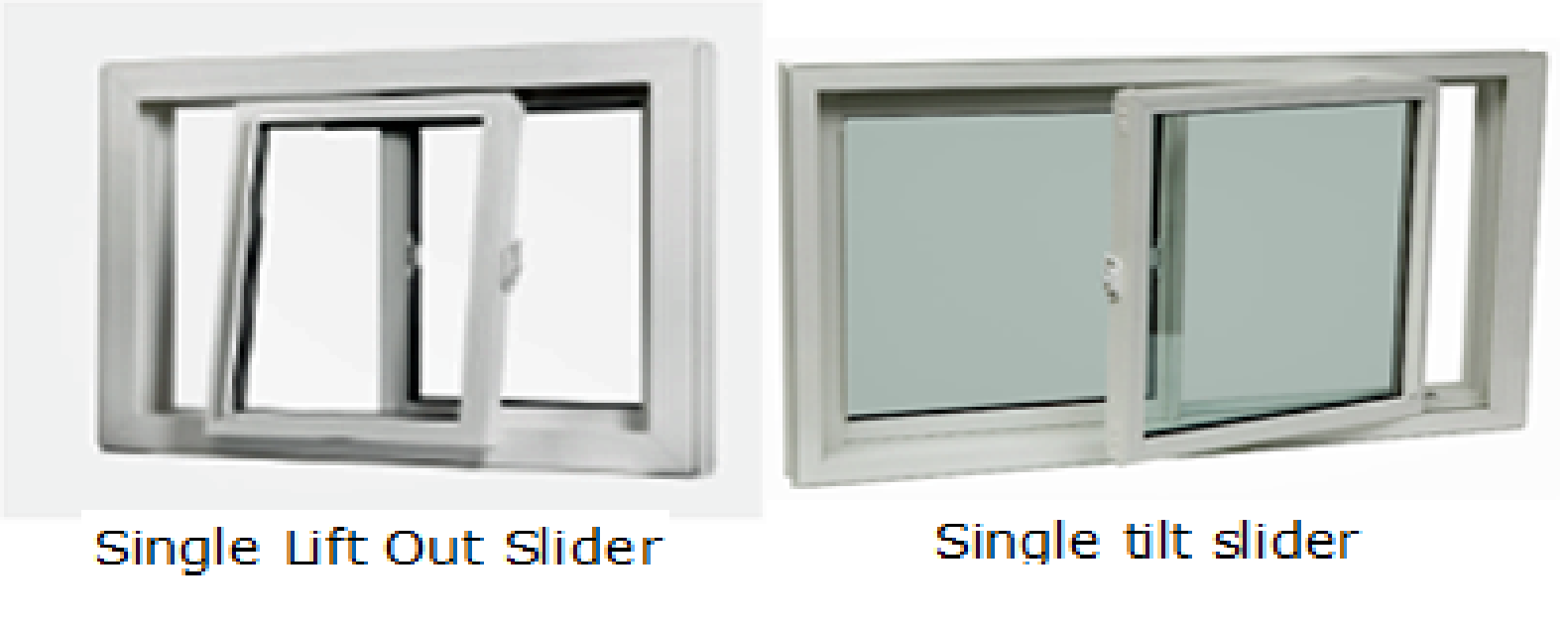 Single Tilt Slider Window Diagram